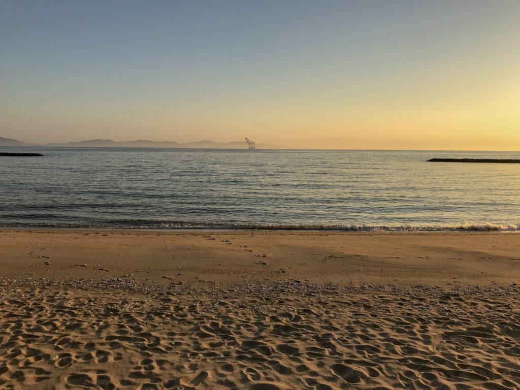 リゾートバイト先で撮った海の写真
