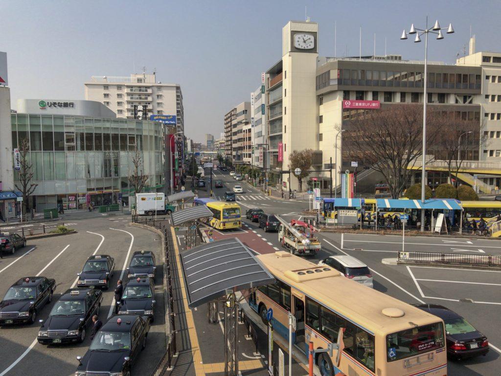 茨木駅西口の画像
