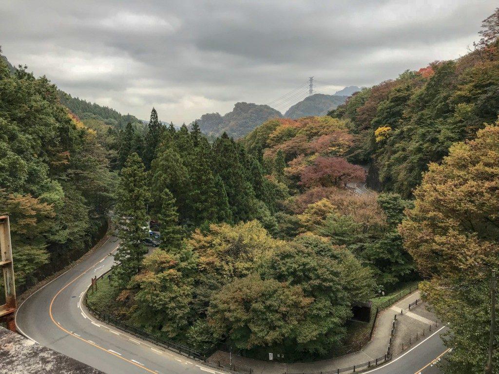 めがね橋の上から見た景色①
